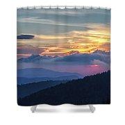 Smokies Centennial Sunset Shower Curtain