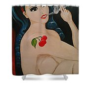 Smokin Betty Shower Curtain