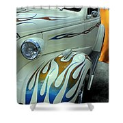 Smokin' Hot - 1938 Chevy Coupe Shower Curtain