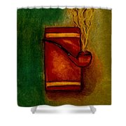 Smoking Pipe Shower Curtain