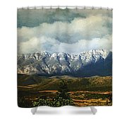 Smoky Clouds On A Thursday Shower Curtain