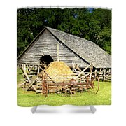 Smoky Mountain Farm Shower Curtain