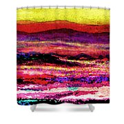 Smoky Mountain Foothills Shower Curtain