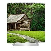 Smoky Mountain Living Shower Curtain