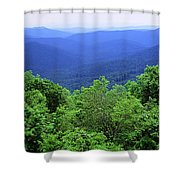 Smoky Mountain National Park Shower Curtain