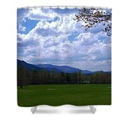 Smoky Mountain Range Shower Curtain