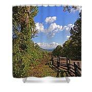 Smoky Mountain Scenery 12 Shower Curtain