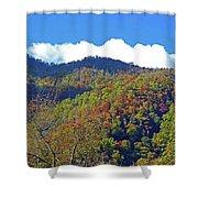 Smoky Mountain Scenery 6 Shower Curtain