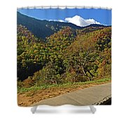 Smoky Mountain Scenery 8 Shower Curtain