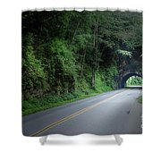 Smoky Mountain Tunnel Shower Curtain