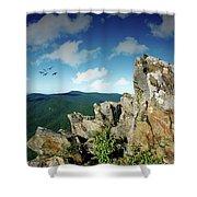 Smoky Mountain View Shower Curtain