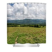 Smoky Mountains Cades Cove 1 Shower Curtain
