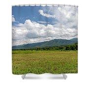 Smoky Mountains Cades Cove 2 Shower Curtain