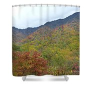 Smoky Mountains National Park 4 Shower Curtain