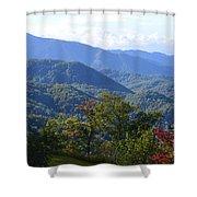 Smokey Mountains Shower Curtain
