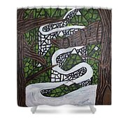 Smoky Mtns Shower Curtain