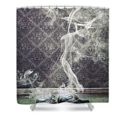 Smoky Shoes Shower Curtain
