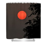 Smoky Sunset Shower Curtain