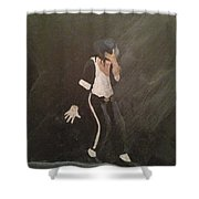 Smooth Criminal Shower Curtain