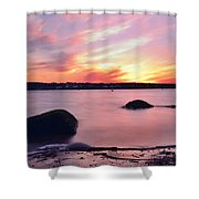 Smooth Fade Shower Curtain by Stephanie Varner