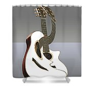 Smooth Guitar Shower Curtain