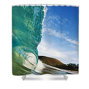Smooth Wave - Makena Shower Curtain
