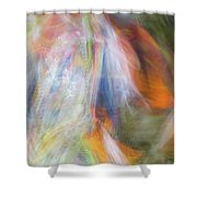 Smudge 212 Shower Curtain