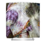 Smudge 216 Shower Curtain