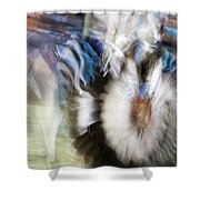Smudge 217 Shower Curtain