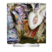 Smudge 219 Shower Curtain