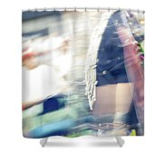Smudge 243 Shower Curtain