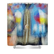 Smudge 247 Shower Curtain