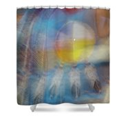 Smudge 248 Shower Curtain
