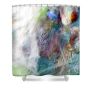 Smudge 395 Shower Curtain