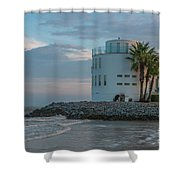 Smugglers Blues Shower Curtain
