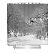Smugglers Notch Shower Curtain