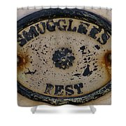 Smugglers Rest Or Rust? Shower Curtain