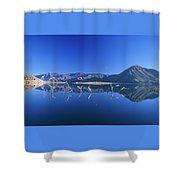 Snags- Lake Isabella Shower Curtain