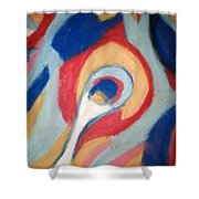 Snail Pace Shower Curtain