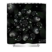 Snail Shells Shower Curtain