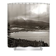 Snake Pass Colorado Shower Curtain