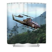 Snake Pit Shower Curtain