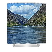 Snake River Hells Canyon Shower Curtain