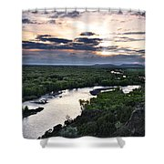 Snake River Shower Curtain