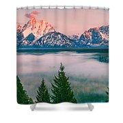 Snake River Overlook - Grand Teton National Park Shower Curtain