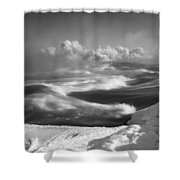 Snake River Winter Shower Curtain