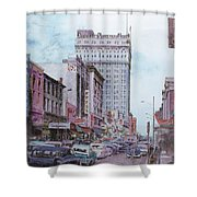 Snapshot Of Greensboro Shower Curtain