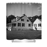 Snee Farm And Charles Pinckney Shower Curtain