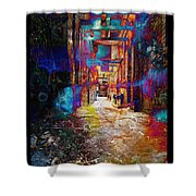 Snickelway Of Light Shower Curtain