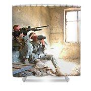 Sniper Crew Shower Curtain